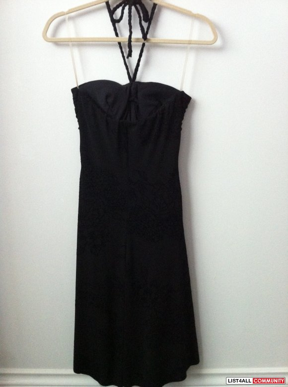 B.Smart - Black semi formal/formal dress
