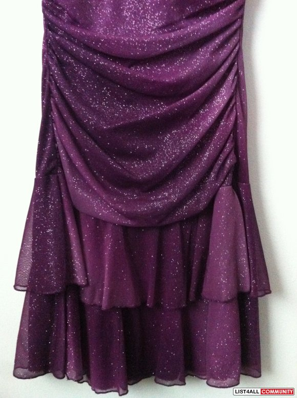 Mariposa - Purple Semi-Formal Dress
