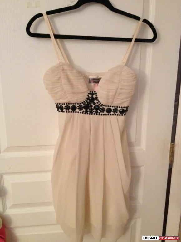 Cream Lipsy Dress