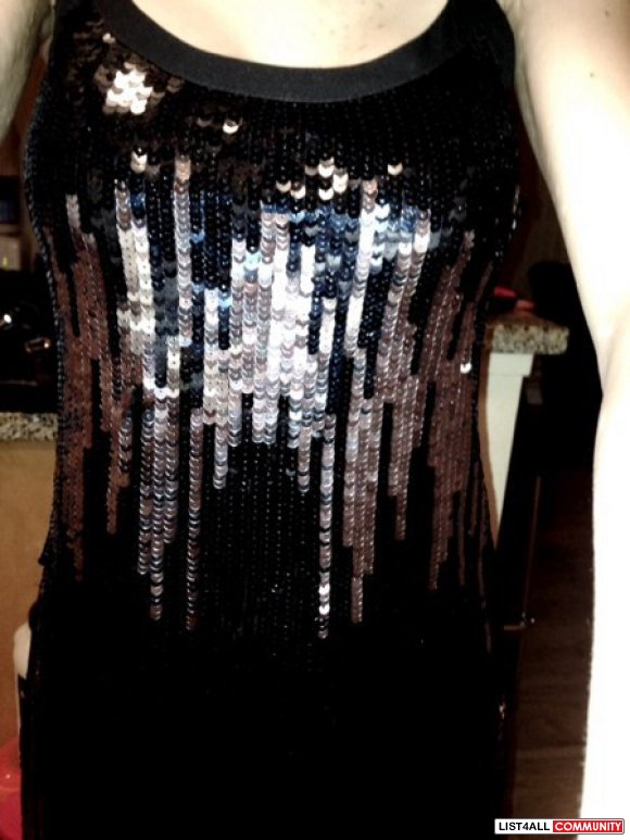 Armani Exchange BNWT XS sequins dress