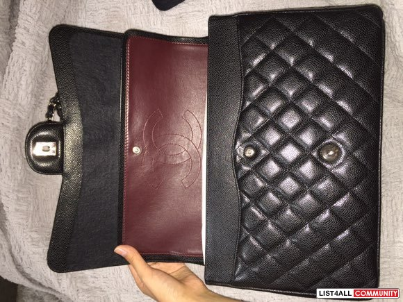 Authentic Chanel Maxi Flap bag