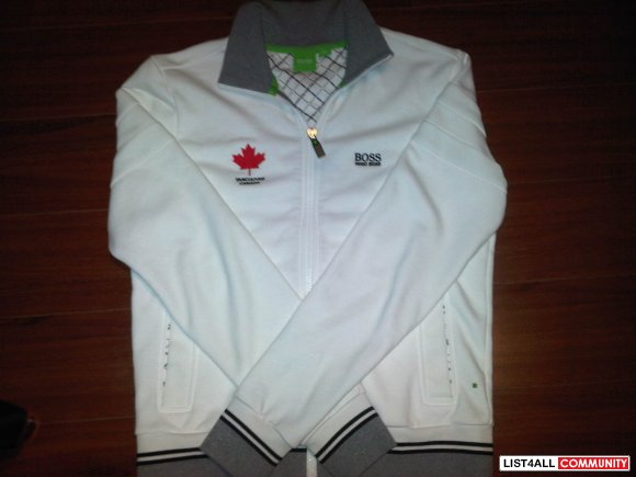FS: BNWOT Hugo Boss Jacket SMALL White LIMITED EDITION