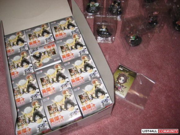 Dynasty Warriors 6 Shin Sangokumusou Mini Figures (Vol. 2)