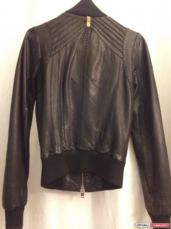 MACKAGE JERRY LEATHER JACKET XS (BARELY WORN)****** :: 2lingg