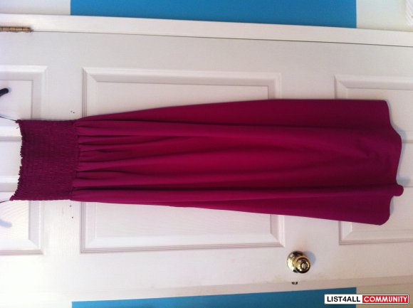 Two maxi dresses size S