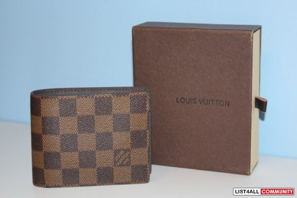 LOUIS VUITTON WALLETS UNUSED BRAND NEW $40 EACH WITH BOX