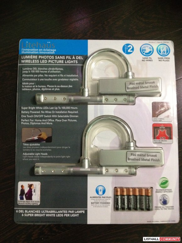 Wireless LED Picture Lights