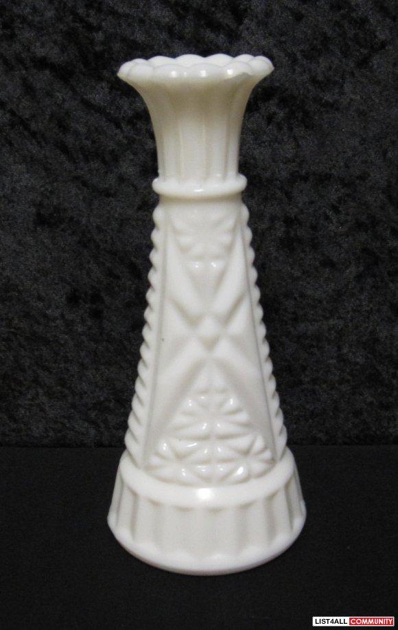 Value Of Milk Glass Vases White Milk Glass Bud Vase