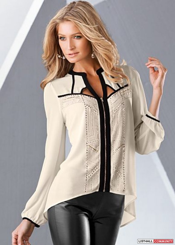 Venus Studded Blouse