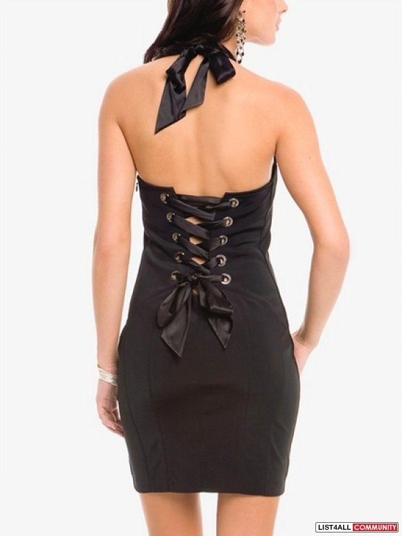 Cocktail Corset Dresses - Plus Size Masquerade Dresses