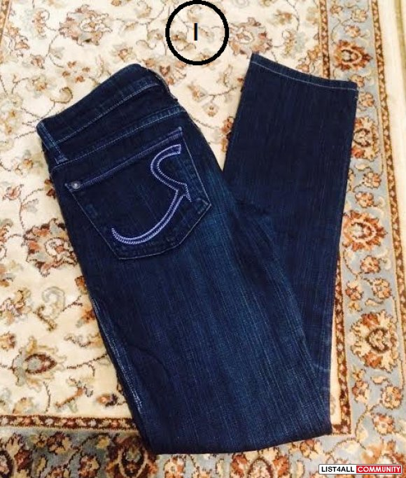 Rock and Republic Kasandra Jeans size 23