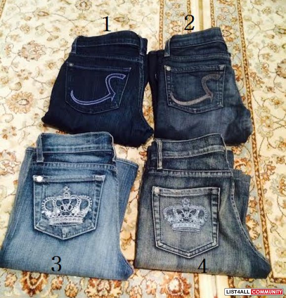 Rock and Republic Limited Edition Victoria Beckham Jeans