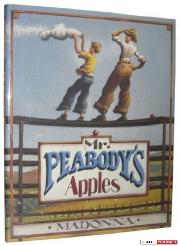 Mr. Peabody's Apples by Madonna (2003, Hardcover) first edition