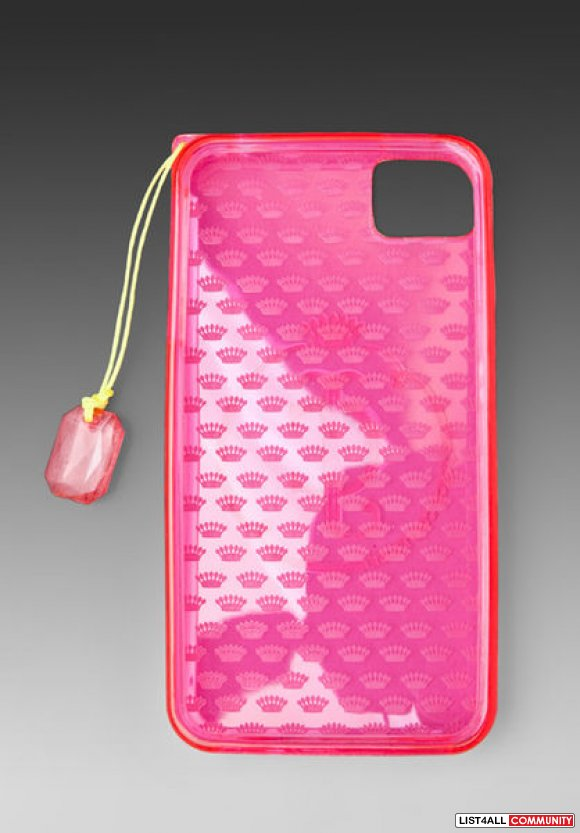 JUICY COUTURE GELLI IPHONE 4 & 4S CASE