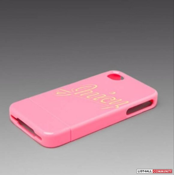 Juicy Couture I Phone 4 Case PINK