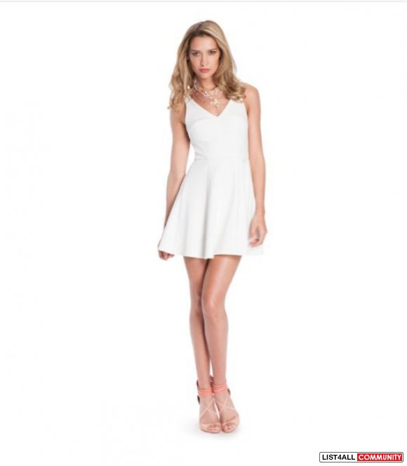Guess By Marciano Becca Fit And Flare Dress