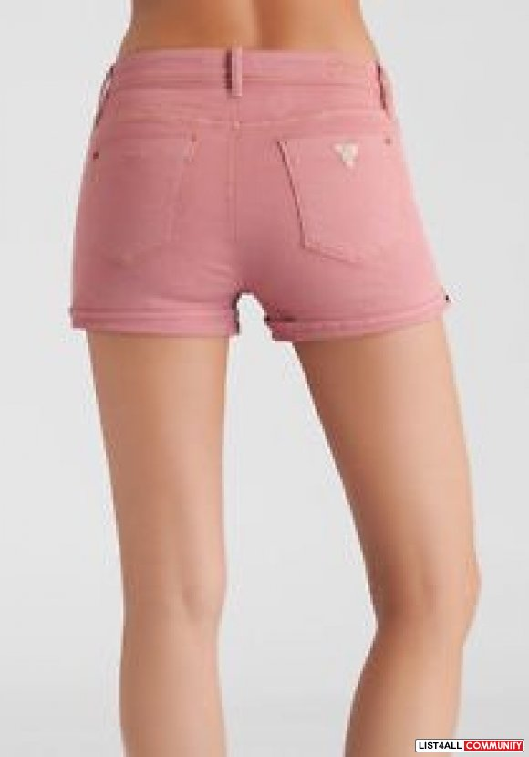 Guess VINTAGE SHORTS – VINTAGE PINK WASH