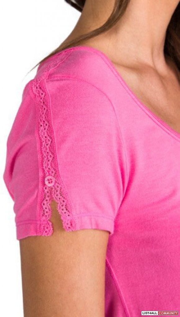 Juicy Couture Pink Modal Tee