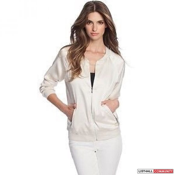 GUESS by Marciano Silk Bomber Jacket