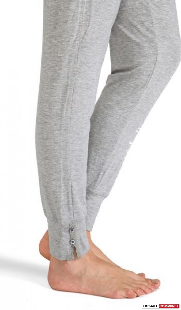 Juicy Couture Pant With Lace Heather Cozy Pants