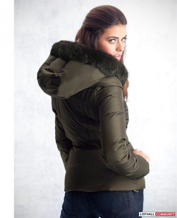 Guess By Marciano Hooded Puffer Jacket