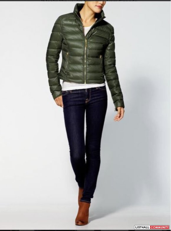 Juicy couture Green Puffer Jacket