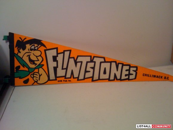 Flintstone Pennant from Chilliwack BC