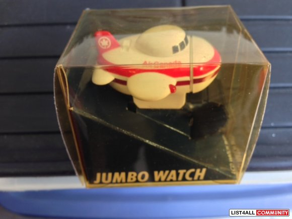 Air Canada Jumbo Jet Watch