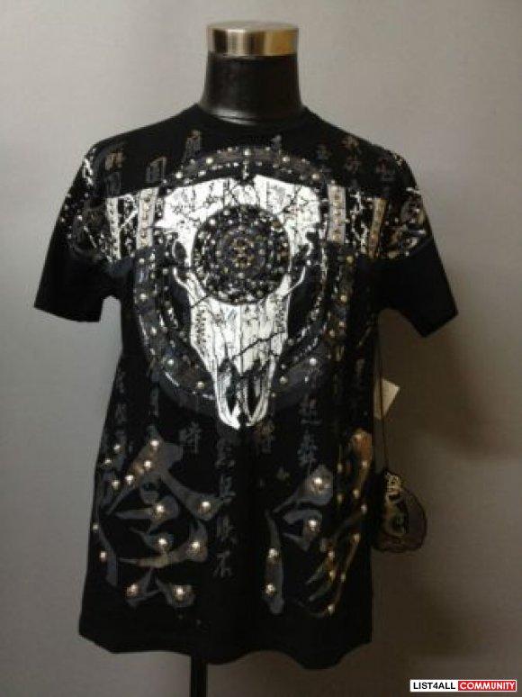 Key Closet Bull Skullswarovski Crystallized Men S T Shirt