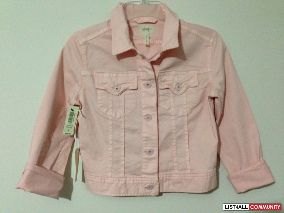 Denim Jacket - Light Pink