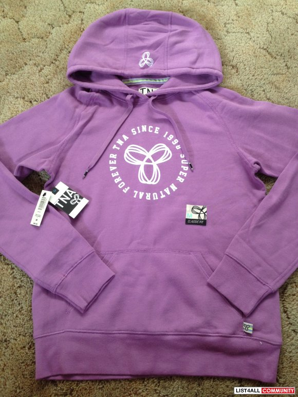 Hoodie With Logo - Purple