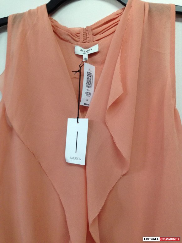 Sleevelss Blouse - Apricot