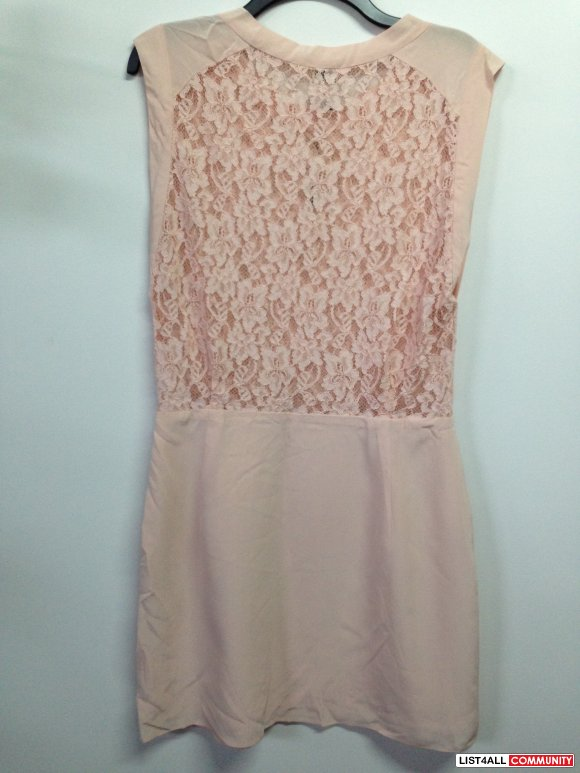 Sablons Dress - Pale Pink