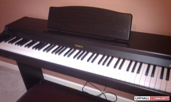 Roland Hp 137 Digital Piano Snappy List4all