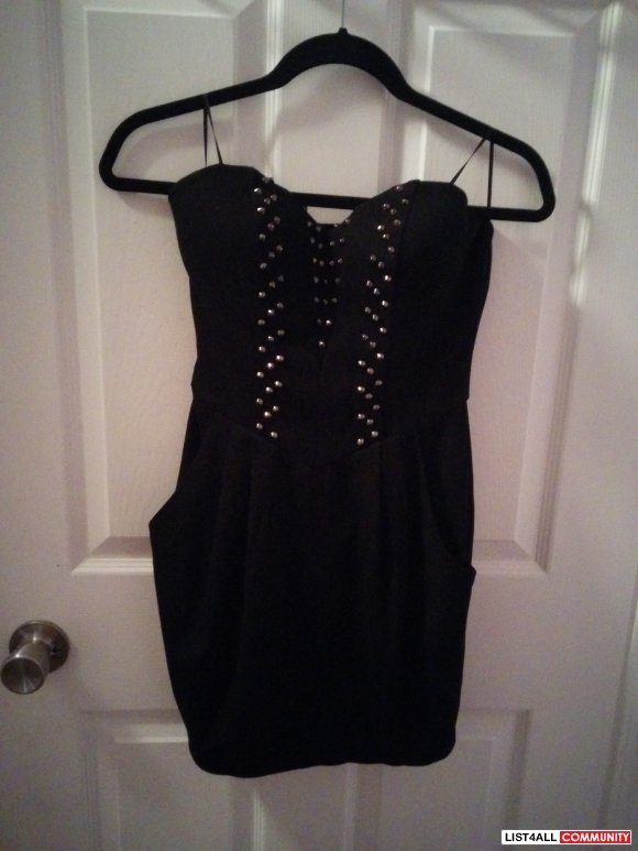 Guess studded dress NEVER WORN