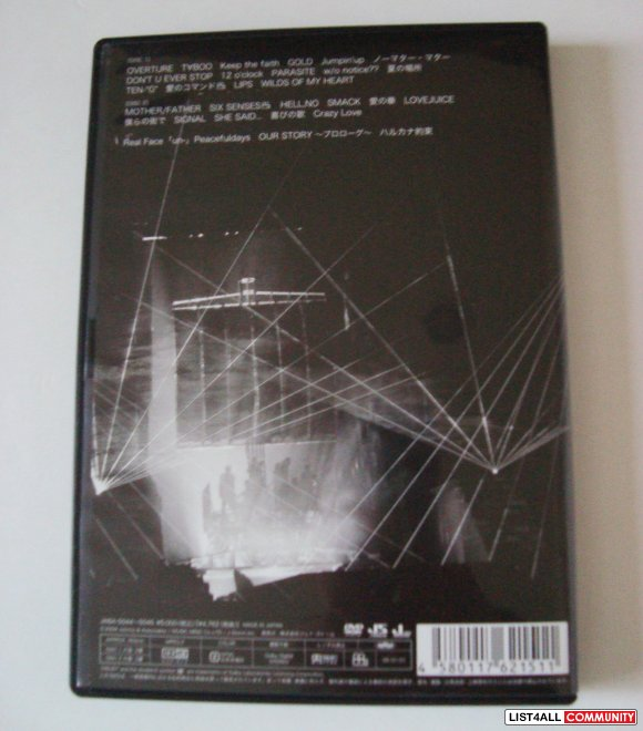 KAT-TUN Live Tour 2008 Queen of Pirates Concert DVD Limited Edition