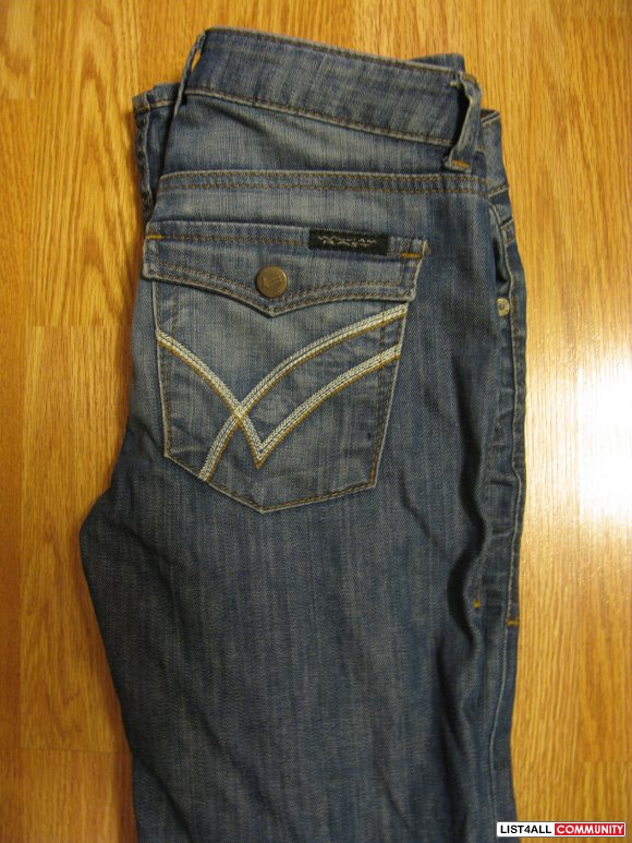 WILLIAM RAST JEANS - SIZE 24