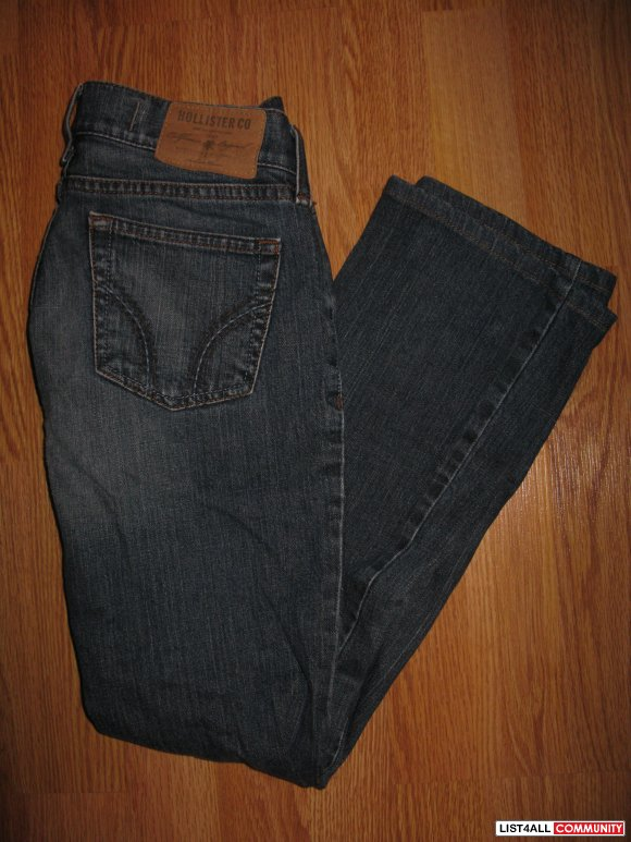 HOLLISTER VENICE BOOT JEANS - FITS 24