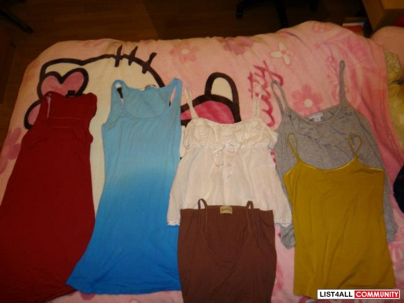 TANKTOPS (TAKE ALL FOR $8