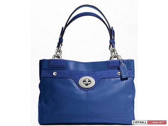 COACH PENELOPE LEATHER CARRYALL