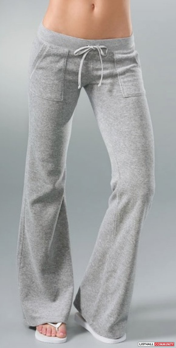 Juicy grey bottoms size p /s (REDUCED)