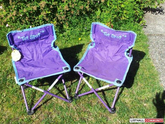 Tot Spot Child Camp Chair All4kids List4all