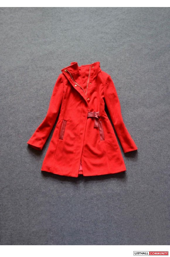 Cultivated woolen coat