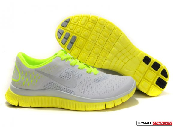 Womens Nike Free 4.0 v2 Cheap Yellow Grey Black,http://www.freerunabc.
