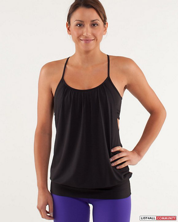Lululemon No limits tank size 4