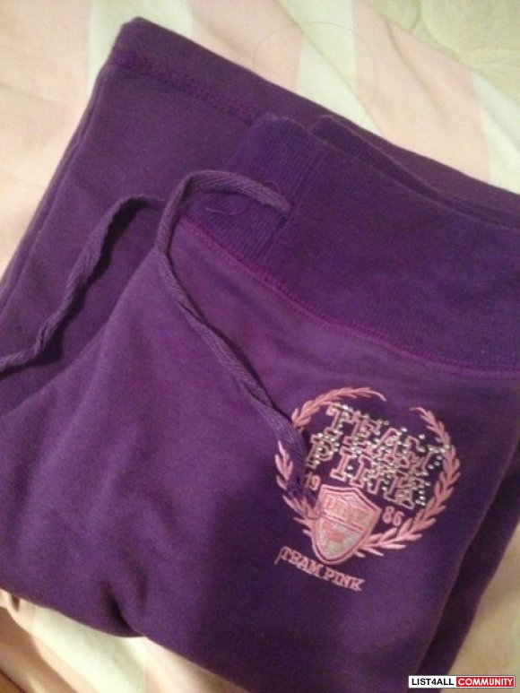 Replica purple PINK sweat pants