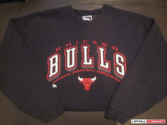 90's Pro Player Chicago Bulls Crewneck Sweater.