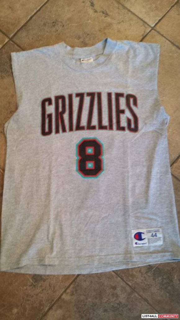 Champion Vancouver Grizzlies Michael Dickerson Sleeveless T-Shirt