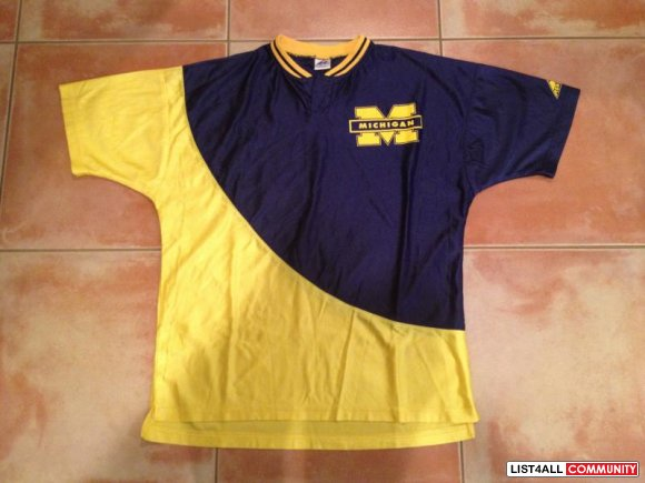 Michigan Wolverines Warmup Top