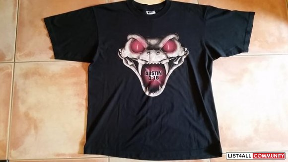 WWF Stone Cold 'DTA' T-Shirt